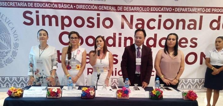 Comparte IEEPO en Simposio Nacional experiencias exitosas del Programa Nacional de Inglés en Oaxaca