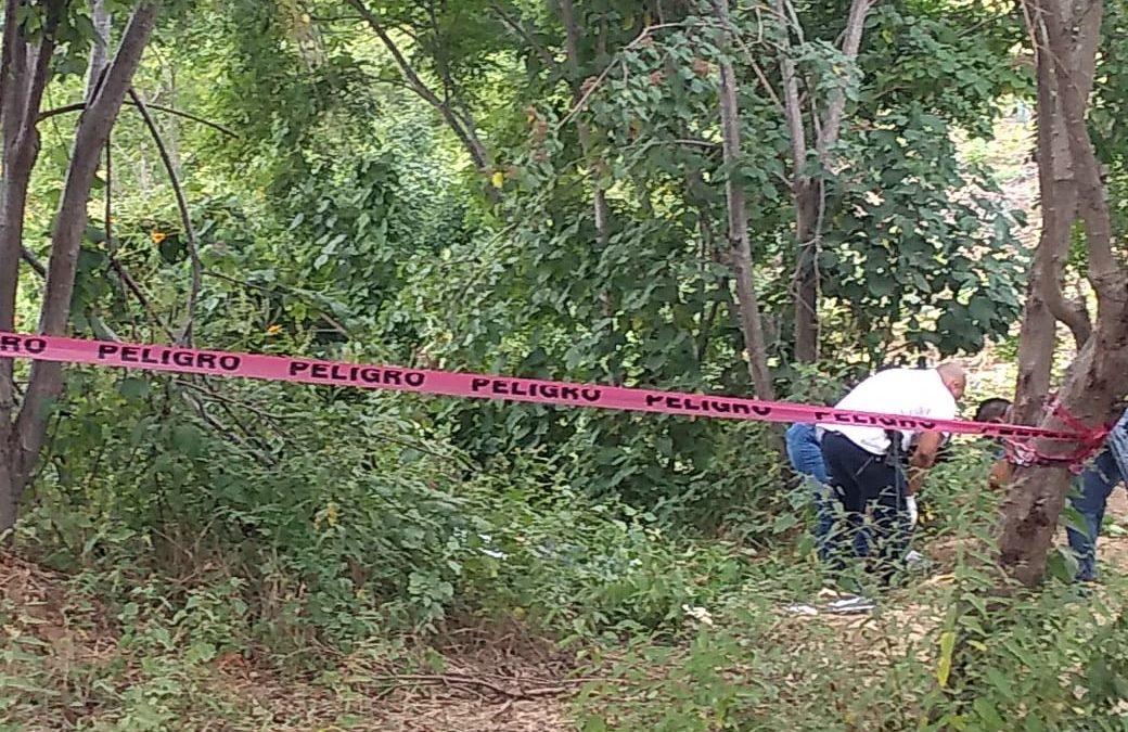 Encuentran cuerpo en Zapotengo, Pochutla