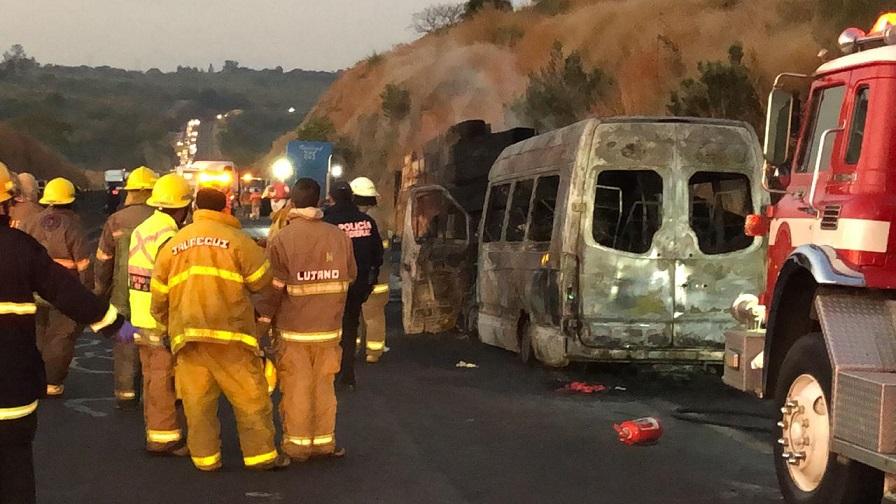 Fatal accidente dejó saldo de nueve personas muertas y 12 lesionadas en Jalisco