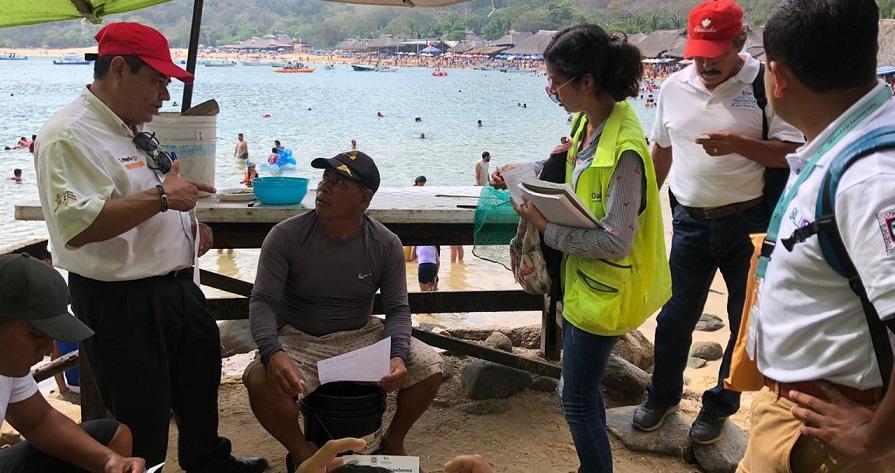 Declara SSO veda sanitaria por marea roja en la costa