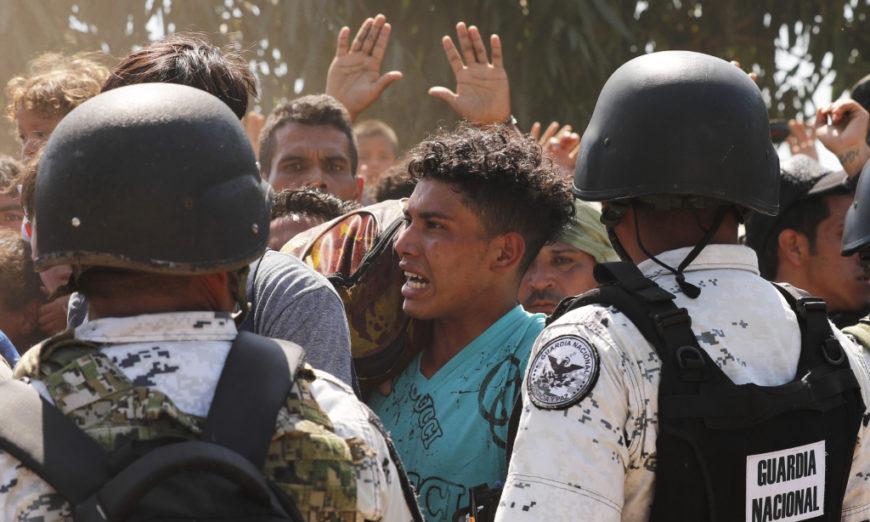 En dos días, el gobierno de México deporta a Honduras a 679 migrantes