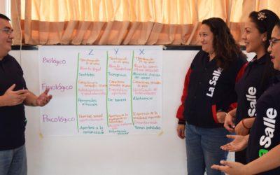 Imparte Coesida taller de sexualidad, a docentes de la Universidad La Salle