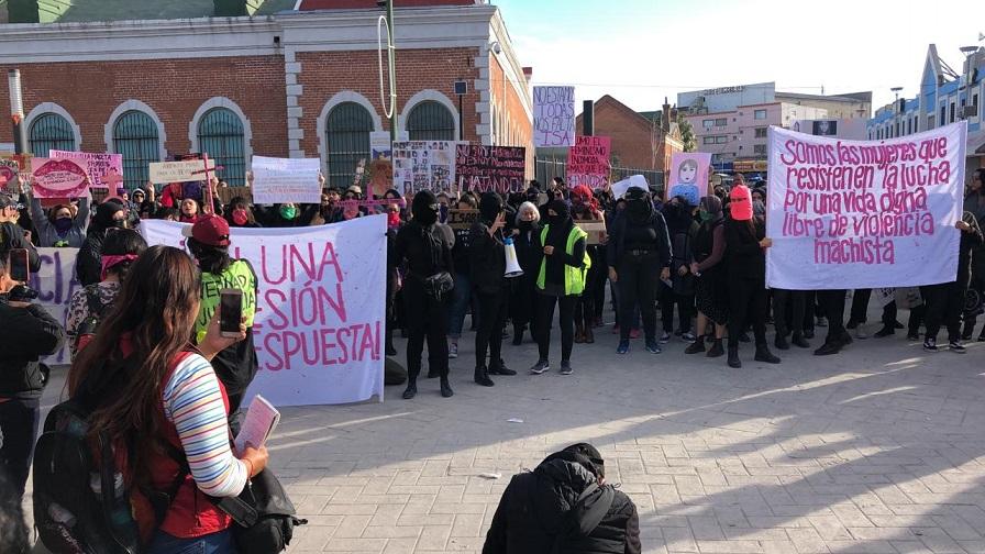 Realizan marcha por el homicidio de la activista Isabel en Chihuahua