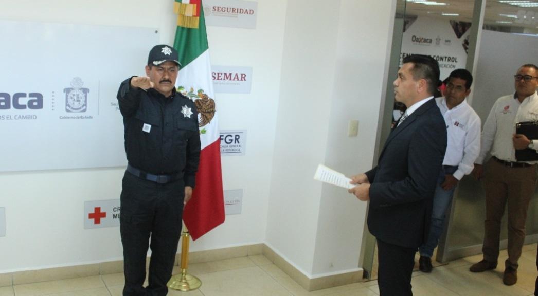 Rinde protesta Comisionado de la Policía Estatal