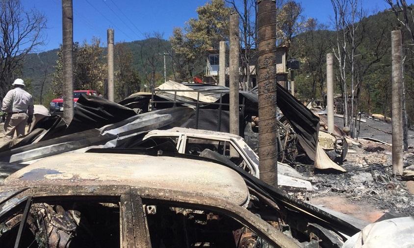 Solicita Gobierno de Oaxaca declaratorias de emergencia y desastre por incendios