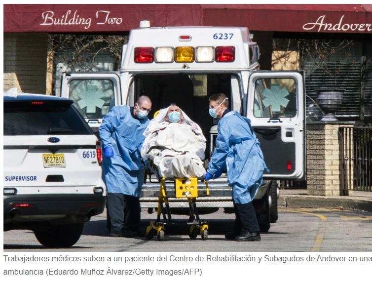 Encuentran 17 cuerpos en un hogar de ancianos
