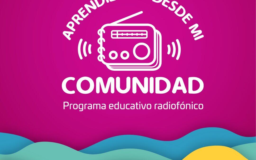 """Serie radiofónica infantil """"Aprendiendo desde mi comunidad"""", disponible en el portal web del IEEPO"""
