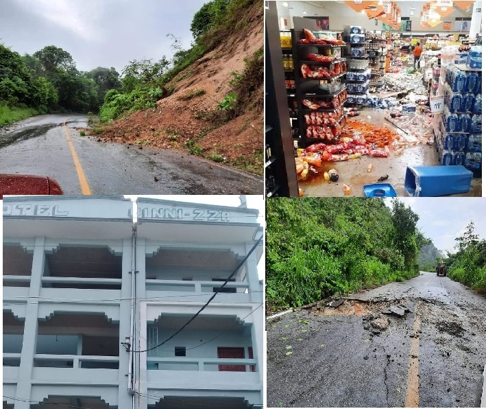 Solicita Gobierno de Oaxaca Declaratoria de Emergencia por sismo