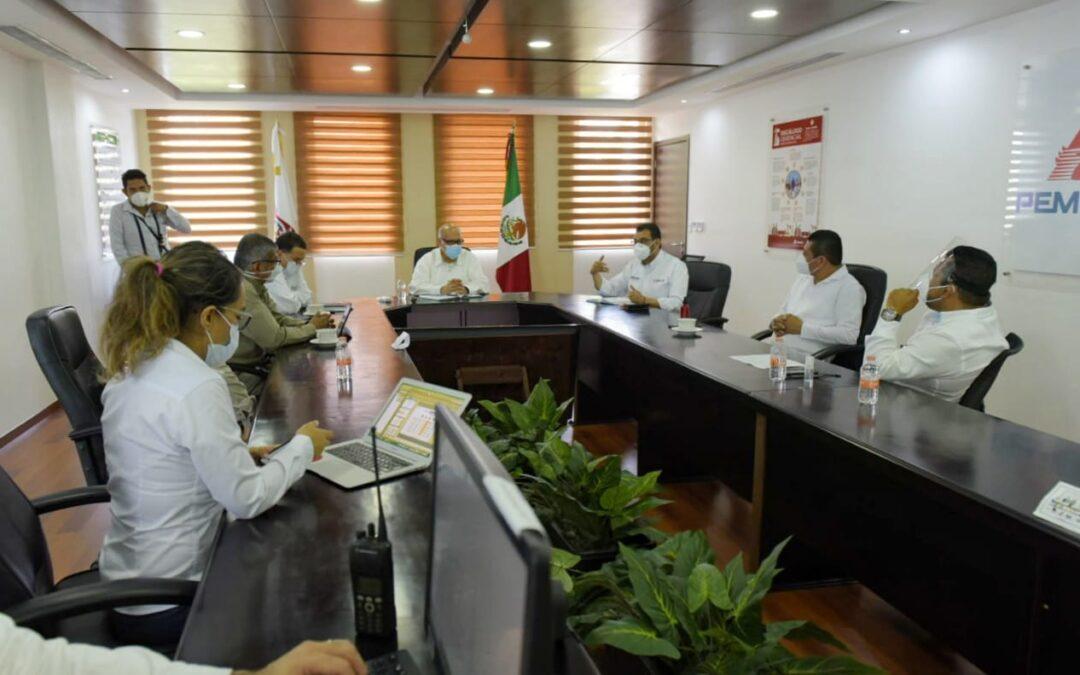 Redoblan trabajo coordinado gobiernos federal,  estatal y municipal en Salina Cruz