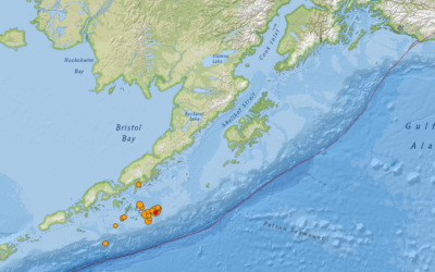 Terremoto en Alaska: Un sismo de magnitud 7,8 sacude las costas de Alaska