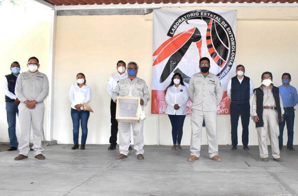 Inaugura SSO Unidad de Investigación Entomológica y Bioensayos en Soledad Etla