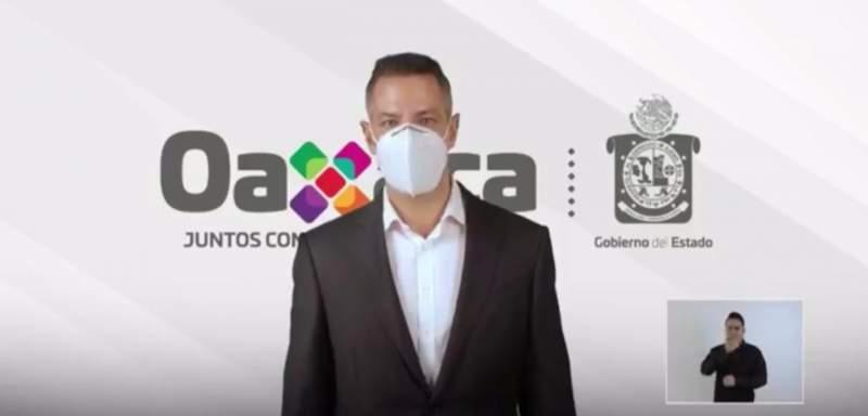Oaxaca en semáforo naranja, inicia reto 40 días por Oaxaca: AMH