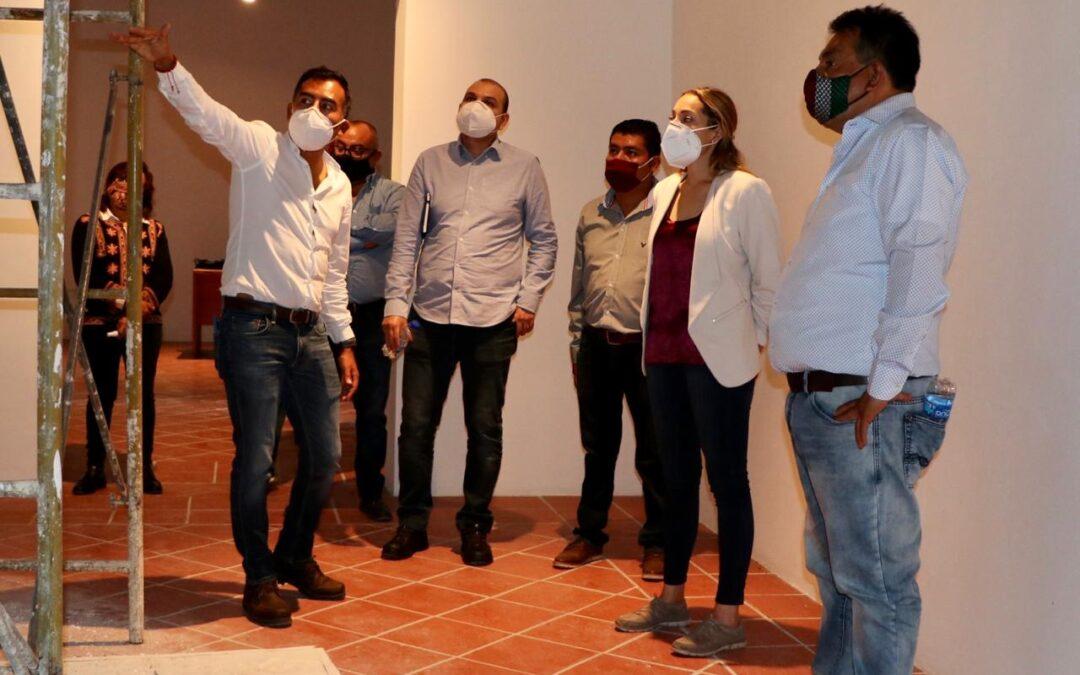 Coordinación institucional para restaurar el Museo de Arqueología Ervin Frissell