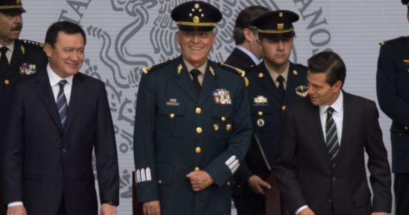 """Cienfuegos """"siempre actuó con honestidad"""": Osorio Chong; se dice sorprendido por su detención en EU"""