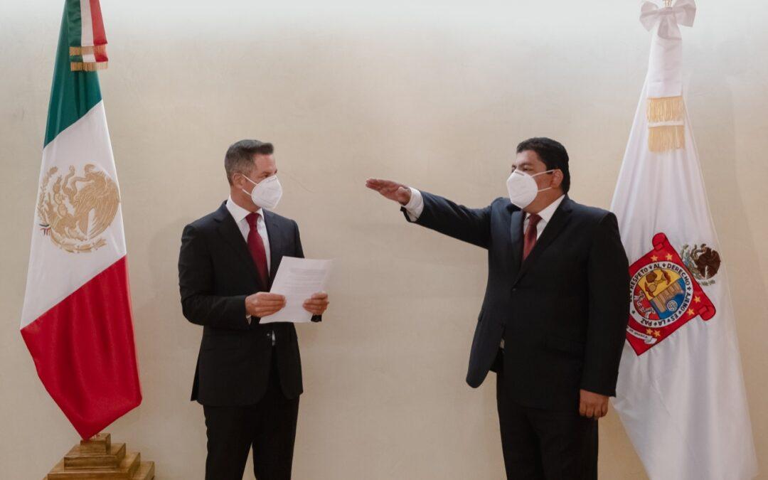 Designa AMH a Francisco Javier García López como  Secretario General de Gobierno