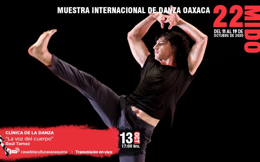 En el marco de la 22 MIDO, se impartirá clase sobre clínica de la danza y conversatorio