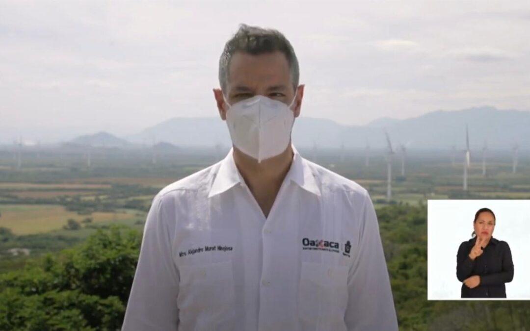 Priorizando la salud, Gobierno de Oaxaca determina la cancelación