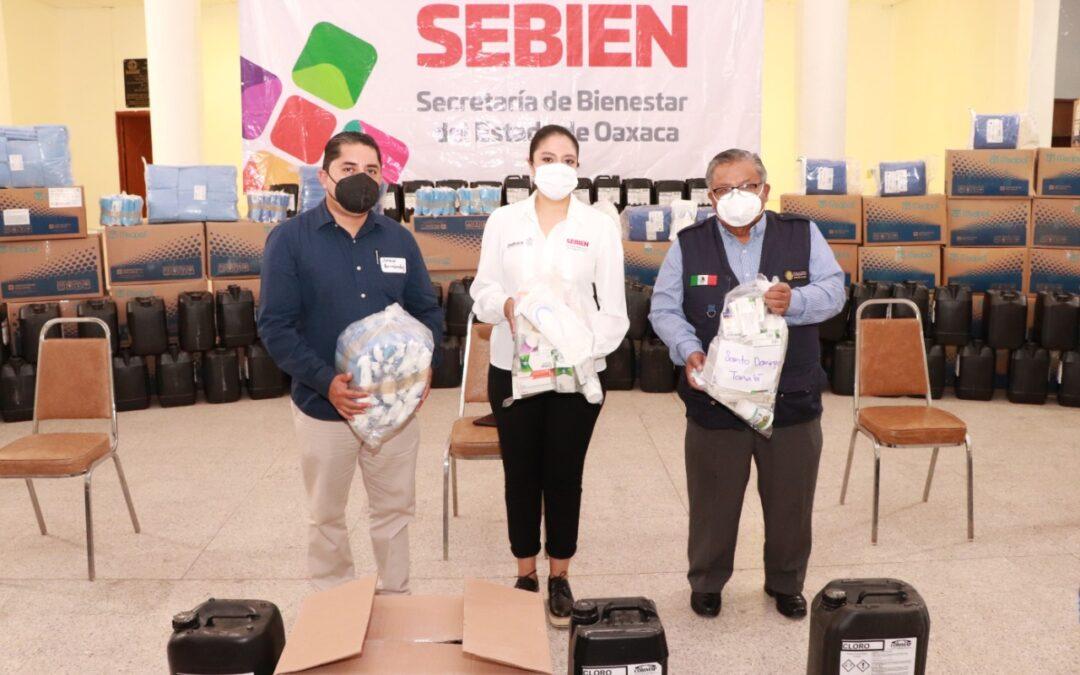 Sebien y SSO entregan medicamentos en la Mixteca