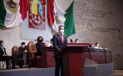 Entrega Poder Ejecutivo de Oaxaca Cuarto Informe, a la LXIV Legislatura del Congreso del Estado