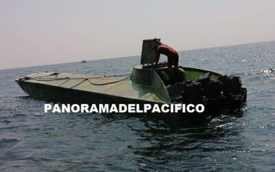 Recuperó una embarcación abandonada en inmediaciones del poblado de Barra de la Cruz