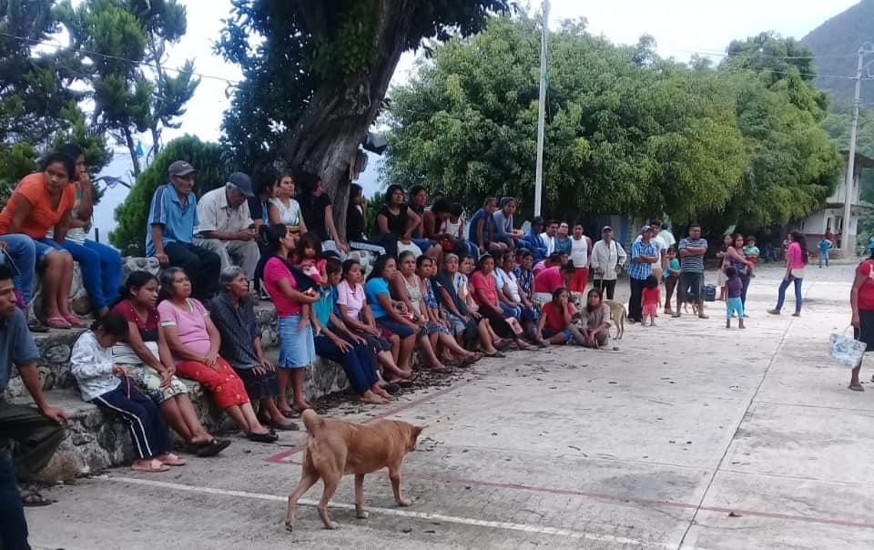 El pueblo de Xanica convoca asamblea para demandar desaparición de poderes