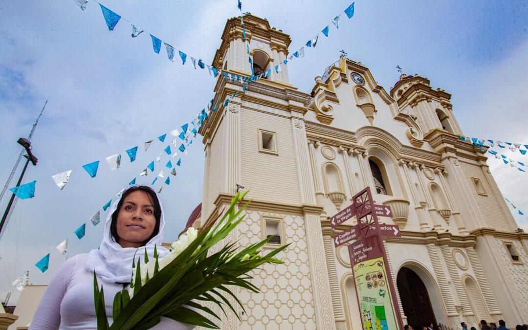 El gran pueblo mágico de fe y esperanza, lugar de la legumbre hermosa es: SANTA CATARINA JUQUILA
