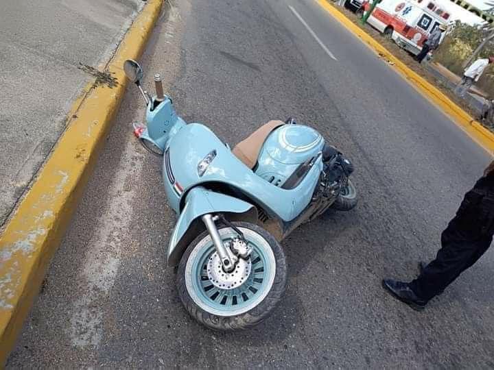 Muere enfermera del Hospital de Ometepec, en accidente de moto