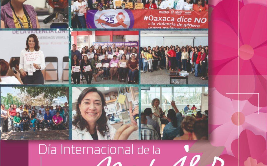 Con hechos, Secretaría de Administraciónconsolida derechos de la mujer oaxaqueña
