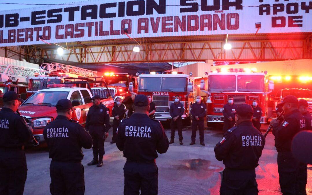 Conmemora Heroico Cuerpo de Bomberos 67 años al servicio de la ciudadanía de Oaxaca