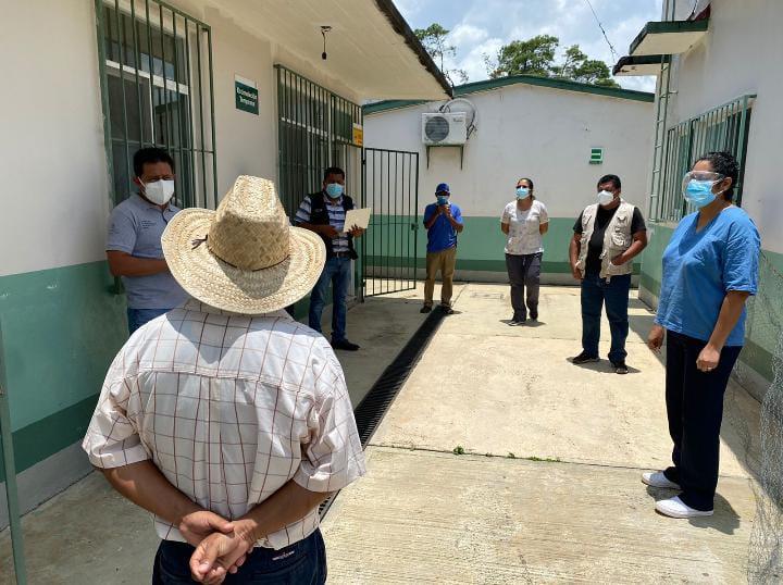 Dan los SSO seguimiento al protocolo de cerco epidemiológicoen localidades de Tuxtepec
