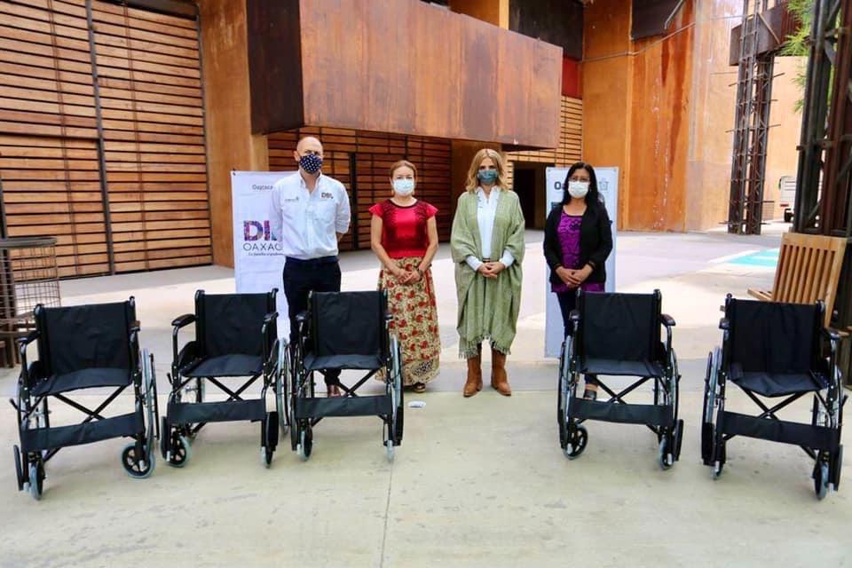 Aparatos funcionales mejoran la calidad de vida de las y los oaxaqueños: DIF Estatal Oaxaca