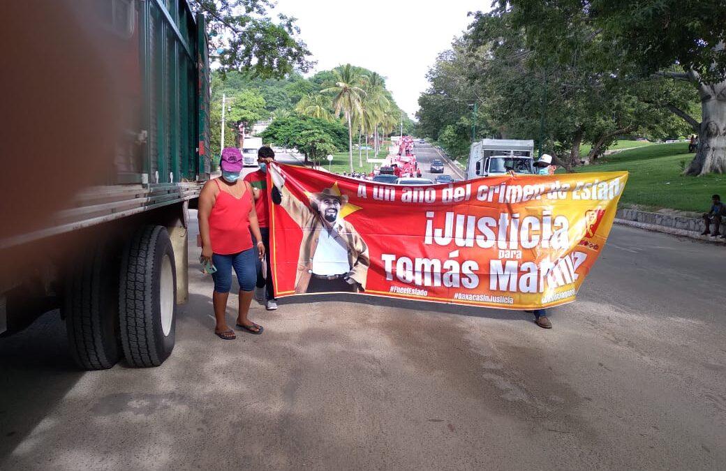Piden justicia por el asesinato de Tomás Martínez