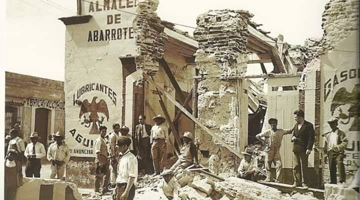 Amargo recuerdo del terremoto 7.8 grados con epicentro en la región de Loxicha