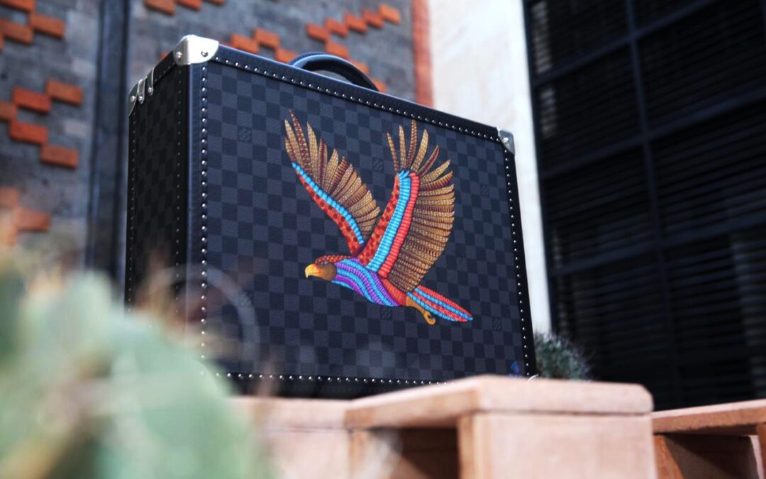 "El arte popular de Oaxaca trasciende fronteras con la colección ""Powers Animals"" de Louis Vuitton"