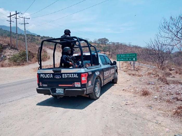 Brinda Segego atención interinstitucional al conflicto presentado entre comunidades de la Sierra Sur