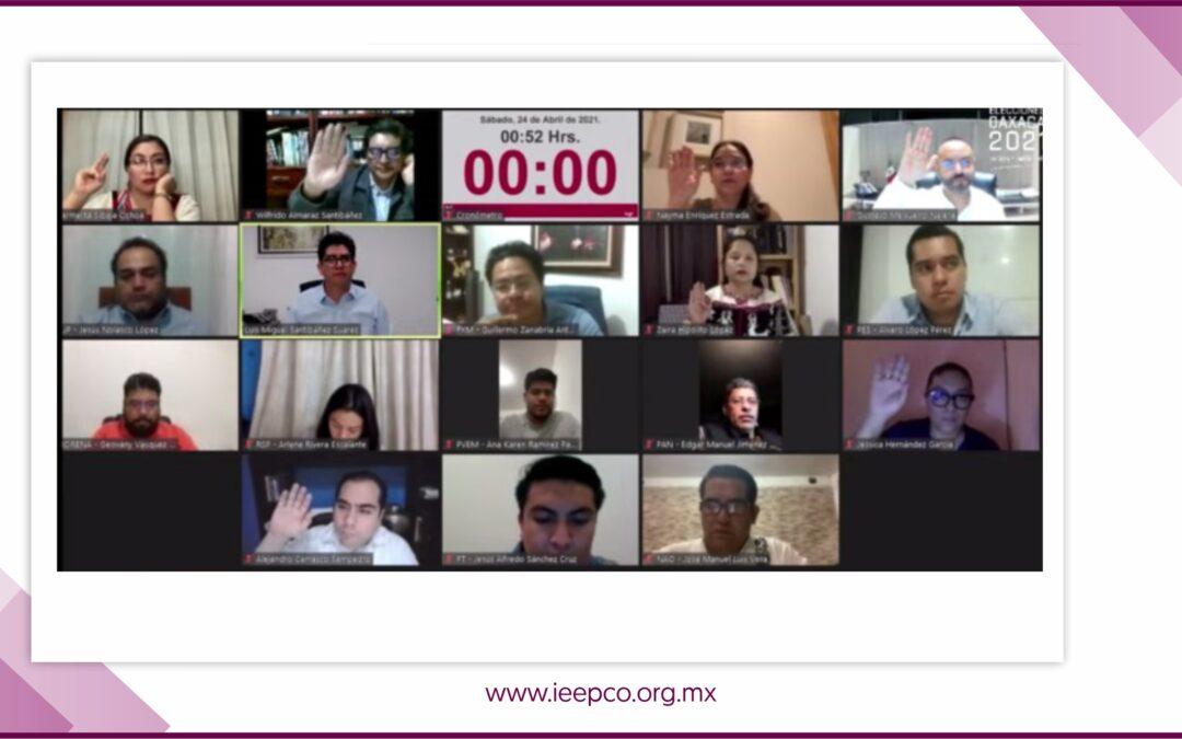 IEEPCO emite recomendaciones ante inicio de campañas en contexto de pandemia