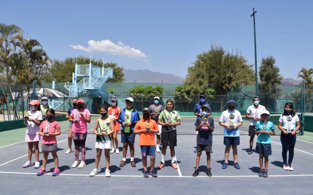Lista la selección oaxaqueña de tenis para Juegos Nacionales