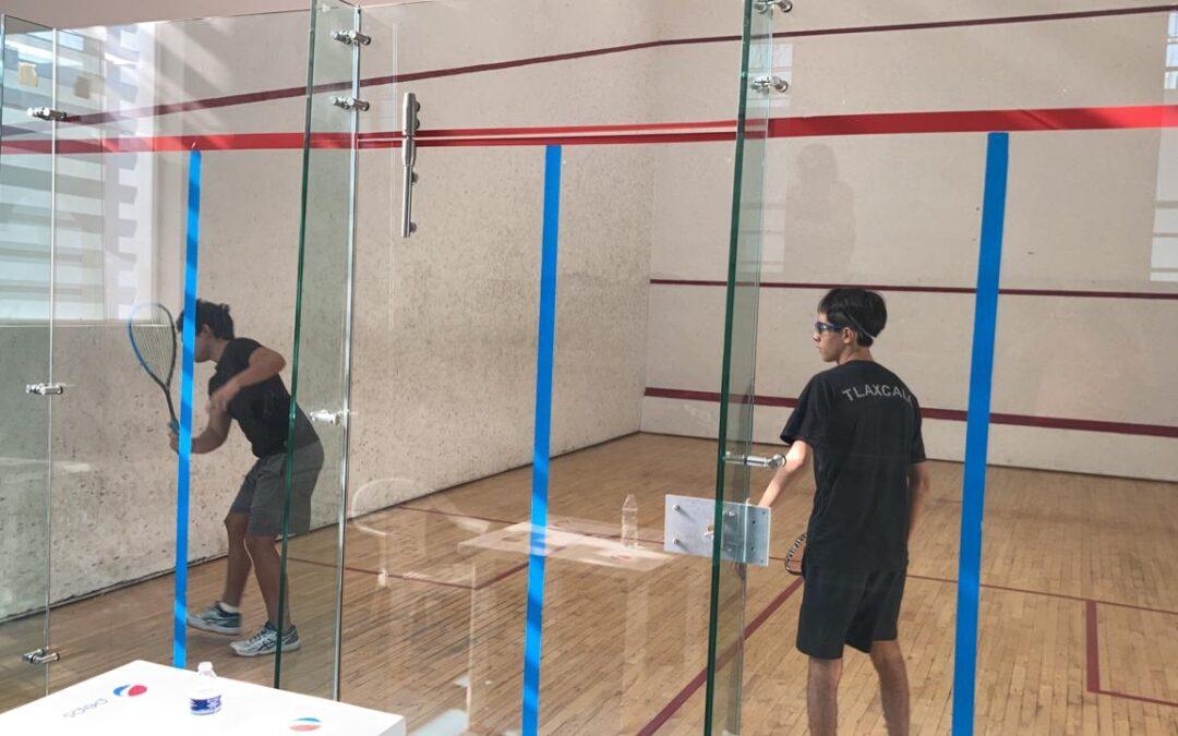 Oaxaca tiene representación en el squash de Juegos Nacionales con cinco jugadores