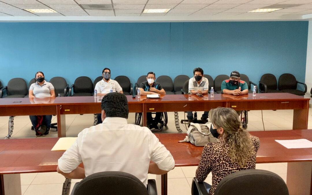 Reconoce Incude Oaxaca los logros y esfuerzo de los medallistas paralímpicos
