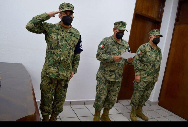 La Secretaría de Marina-Armada de México realiza Ceremonia de Cambio de Mando de Armas en Santa Cruz Huatulco