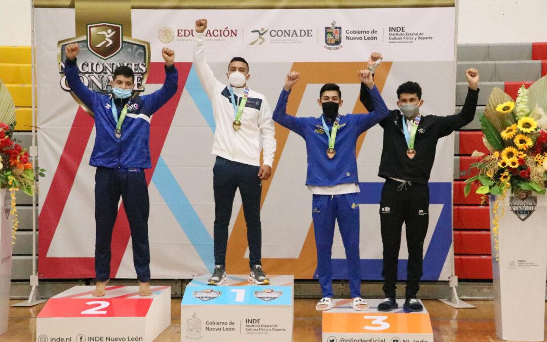 El judo oaxaqueño cierra con medalla de oro y plata su participación en Juegos Nacionales
