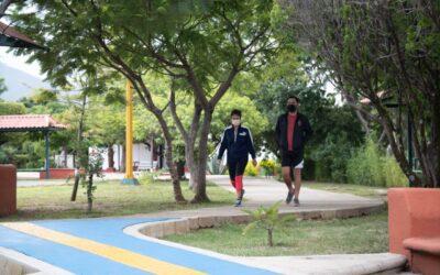 Destacan usuarios de parques importanciade seguir reglas sanitarias
